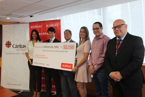 RIMAC donacion